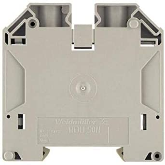 Amazon com: DIN Rail Mount Terminal Block, Fused, 2