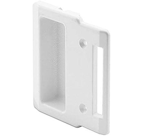 """CRL White Plastic Andersen Sliding Screen Door Inside Pull With 2-1/8""""  Screw Holes. - Screen Door Hardware - Amazon.com"""