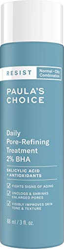 Paula's Choice RESIST Daily Pore-Refining Treatment 2% BHA | Salicylic & Hyaluronic Acid | Blackheads & Large Pore Exfoliant | Oily Skin | 3 Ounce