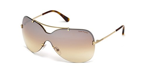 Tom Ford Ondria FT0519 C00 28F (shiny rose gold / gradient brown)