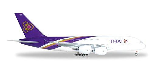 DARON Herpa Thai A380-800 Reg#HS-Tuc Chai Ya Vehicle (1/200 Scale)