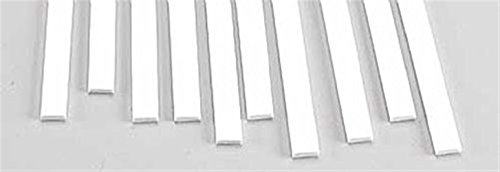 Strip Rect - Plastruct MS-825 Rect Strip,.080x.250 (10) PLS90769