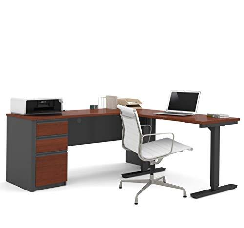 2-Piece set including a standing desk and a desk