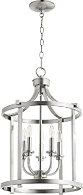 Quorum 6807-5-65 Five Light Entry Pendant