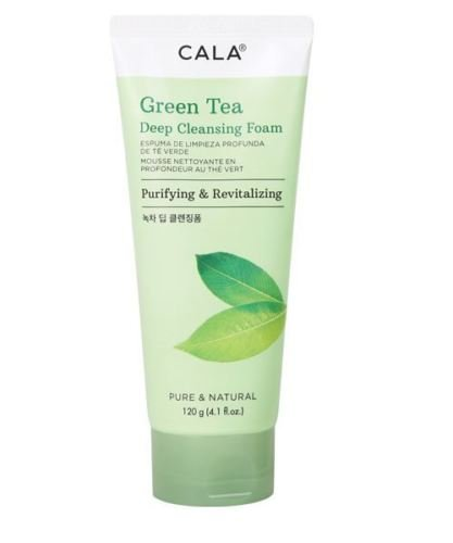 [NEW ARRIVAL] CALA GREEN TEA DEEP CLEANSING FOAM PURIFYING & REVITALIZING 4.1OZ