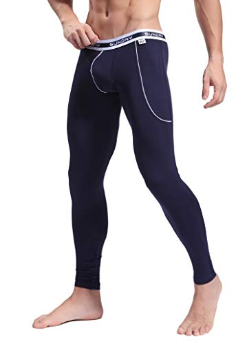 ARCITON Men's Low Rise Leggings Long Johns Thermal Pant US S/with Tag M(Waist: 30