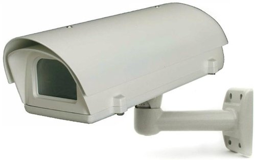 - Outdoor Aluminum Camera Housing with Heater and Blower, 24VAC