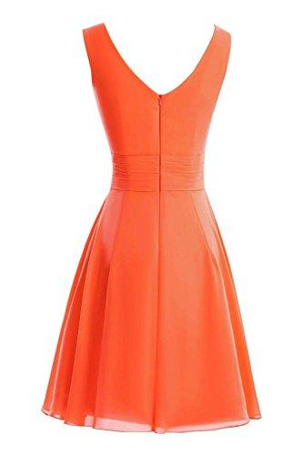da da per donna castello elegante al Rosso ginocchio Chiffon da Secret sera abiti donna in abiti Abito U32 qOwxzPYC1