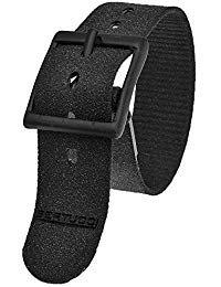 Bertucci DX3#31 Black Tridura Watch Band Fits A-2T, A-3T, B-1T, D-1T, G-1T, A-2S