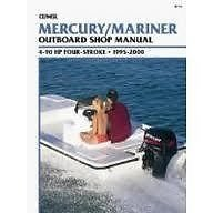 (New Service Manual for Mercury/Mariner 4-90HP Outboards (1995-2000) B710)