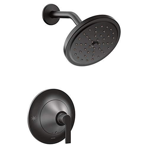 Moen TS2202BL Doux Collection Shower Trim without Valve, Matte Black