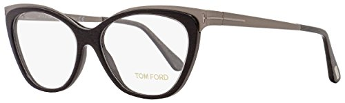 Tom Ford - FT 5374, Cat Eye, acetate/metal, women, BLACK RUTHENIUM(020 AG), - Ford Womens Tom Clothing