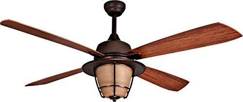 Litex E-MR56ESP4C1 Morrow Bay 56 Inch Ceiling Fan, Espresso