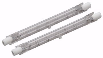 """500 Watt Halogen Replacement Bulbs Double Ended 4-5/8"""" Long - PACK of 2"""