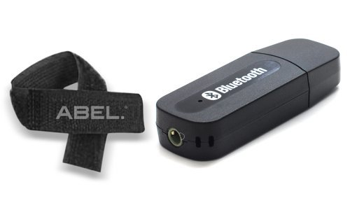 ECOMGEAR? USB Bluetooth Audio Music Receiver Adapter for PC Speaker Phones 3.5mm Stereo+ABEL Cable Tie by ecomgear (Image #3)