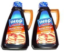 2 PACK - IHOP at Home Butter Pecan Flavored Syrup, 24 oz