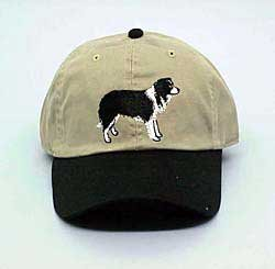 - Cap: Border Collie