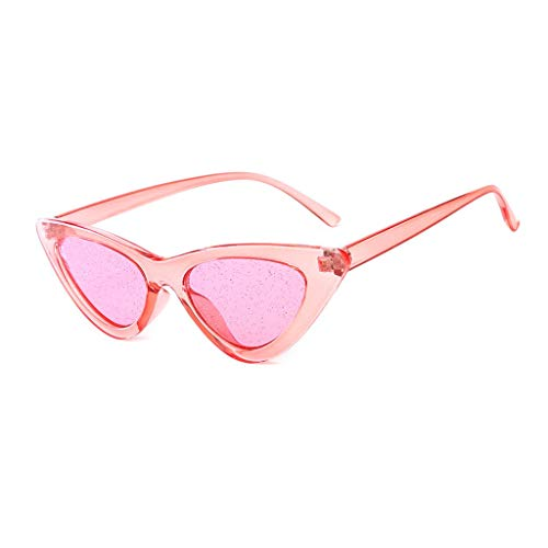 Yucode Fashion Jelly Sunshade Sunglasses for Women Integrated Sexy Vintage Glasses -