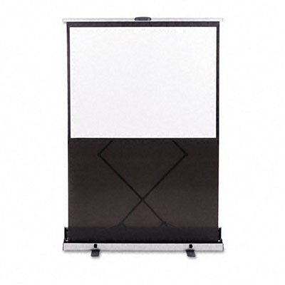 Quartet Euro Portable Cinema Screen, 60 Inch, Black Frame (960S)