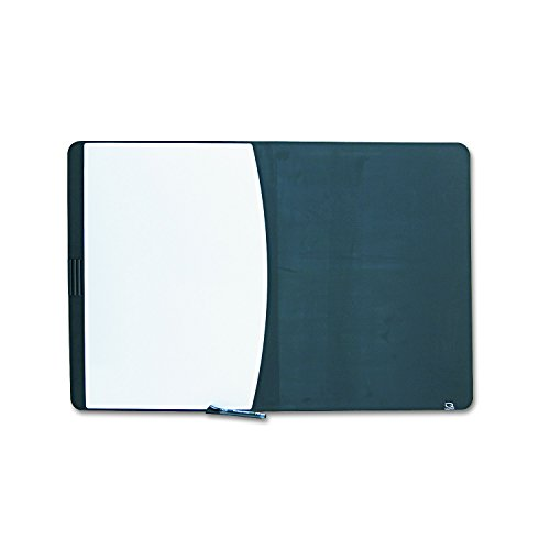 - Quartet 06545BK Quartet Tack & Write Combo Dry-Erase/Marker Board, Foam, 35 x 23-1/2, BLK/WE