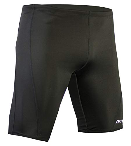 - Onvous Mens Durable Training Jammer Swimsuit (32) Black