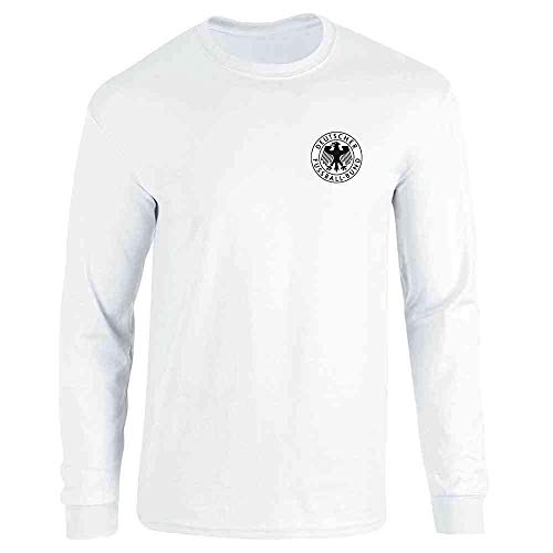 National Team Long Sleeve Tee - Germany Soccer Futbol Retro Vintage National Team White M Long Sleeve T-Shirt