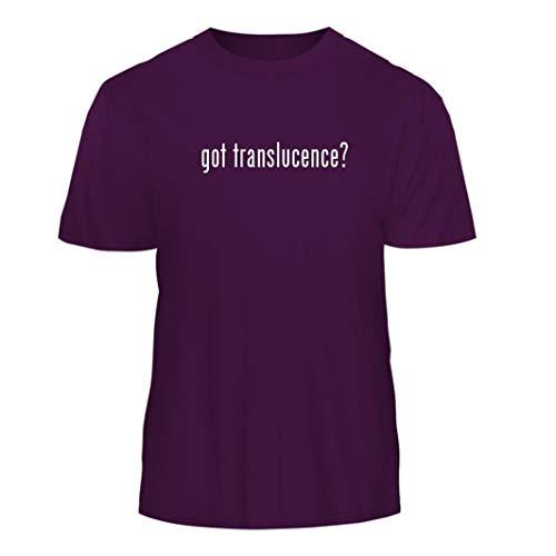 (got Translucence? - Nice Men's Short Sleeve T-Shirt, Purple, Medium)