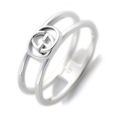 d554d90b262f グッチ 指輪 GUCCI リング インターロッキング G チャーム シルバー 298036 J8400 8106 (7) [