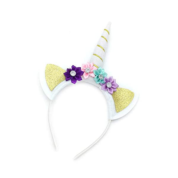 JiaDuo Girls Princess Party Dress, Rainbow Tutu Train & Headband 6