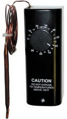 TPI Corp./Columbus Electric L08Y01 Thermostat w/ 8ft Capillary