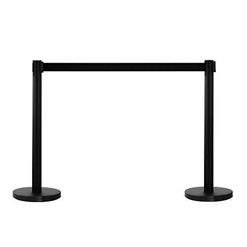 2pcs 32 x 90cm Stainless Steel Telescopic Handrails Black 31eedBr1vTL