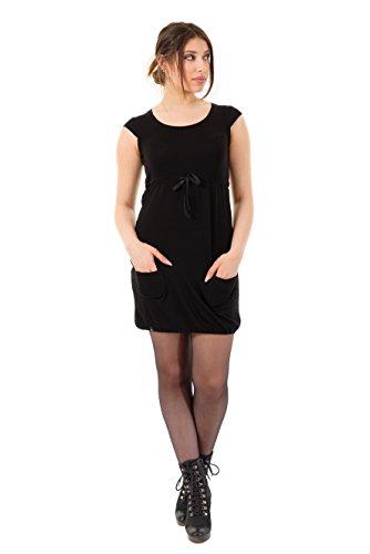 Tulipano Black in Green Summer Abiti Abbigliamento 3elfen Donna Berlin Dress corti Made Heidi OBK78aCq