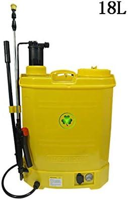 JTYDFG Pulverizador a presión, Pulverizador fumigador Tipo Mochila 18 litros Hierbas Pulverizador Usado para controlar el Control de plagas.: Amazon.es: Jardín