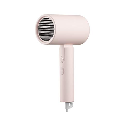 niaoyufeng-Hair Dryers - Original for XIAOMI MIJIA Portable Anion Hair Dryer Nanoe Water ion hair care Professinal Quick Dry 1600W Travel Foldable Hairdryer (Pink EU)