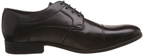 Clarks Banfield Cap black leather Mens Business shoes