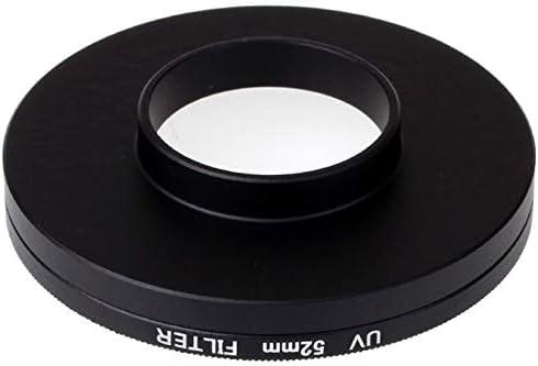 4K Xdashou Lens Accessories 52mm UV Filter Lens Filter with Cap for Xiaomi Xiaoyi 4K+ Xiaoyi Lite Xiaoyi Sport Camera