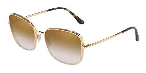 Dolce & Gabbana 0DG2223 Gafas de sol, Gold, 58 para Mujer ...