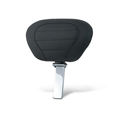 Mustang Motorcycle Seats Deluxe Touring Driver Backrest Pad And Post (Plain)