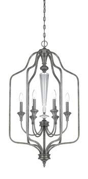 - Craftmade Lighting 26736-MBS Boulevard - Six Light Chandelier, Mocha Bronze Finish