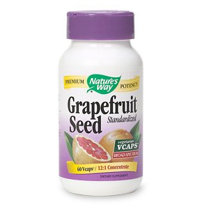 NATURE'S WAY GRAPEFRUIT SEED EXTRACT, 60 VCAP For Sale