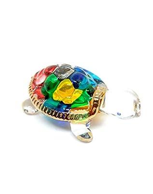 Handmade Turtle Art Art Glass Blown Sea Animal Figurine - No.1