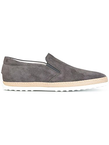 Xxm0tv0k900re0b408 Tod's Sneakers Slip Grigio On Uomo Camoscio
