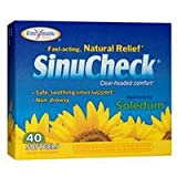Enzymatic Therapy SinuCheck 40 softgels ( 3-Pack)