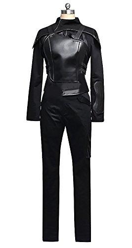 Women's the Hunger Games 3 Mockingjay Katniss Everdeen Cosplay Costume Full Set (Custom-made) (Katniss Everdeen Halloween Costumes)
