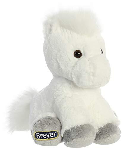 White Plush Horse (Aurora Breyer Little Bits Cuddly Plush White)