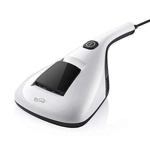 Housmile 804 Anti-Dust Mites UV-C Vacuum Cleaner with Advanced HEPA Filtration and Double Powerful Suctions Eliminates Mites, Bed Bugs and Allergens for Mattresses, Pillows, Cloth Sofas, and Carpets