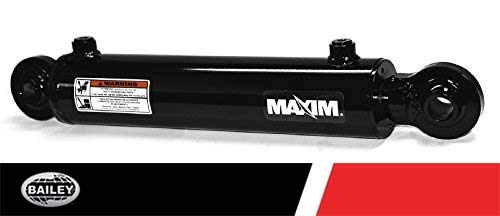 Maxim WSB Swivel Ball Welded Cylinder: 1.5 Bore x 10 Stroke, 1