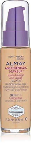Almay Age Essentials Anti-Aging SPF 15 Foundation, 130 Light