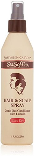 Sta-Sof-Fro Hair & Scalp Spray Extra Dry 8 oz (Pack of - And Scalp Hair Spray