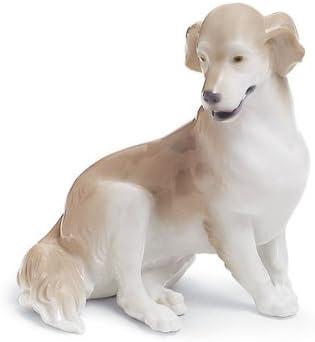 Lladro Golden Retriever Porcelain Figurine